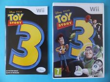 DISNEY PIXAR TOY STORY 3 COMPLETE Original Nintendo Wii & U PAL Video Game