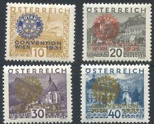 A07299 - Austria B87-92* Never-hinged. Rotary set.