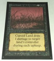CURSED LAND - BETA COLLECTOR'S EDITION MTG MAGIC THE GATHERING LP