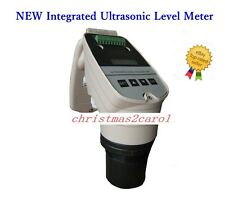 New Integrated Ultrasonic Level Meter 5m Water Level Transmitter Dc24v 4 Wire