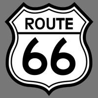 Route 66 Highway Vinyl Sticker Car Truck Window Decal Laptop Yeti Pick Size