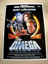 OSTERMAN WEEKEND Original Movie Poster BURT LANCASTER SAM PECKINPAH RUTGER HAUER