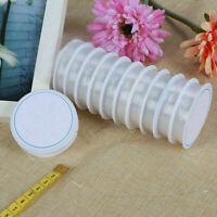 5 Rollen 0,7 mm Transparent Elastic Tread Cord Schnur oder Draht Beading An X1G6
