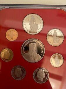 1996 Swiss Coin Set Proof