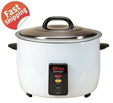 Restaurant Rice Cooker Commercial Kitchen Steamer Warmer Electric Pot 60 Cup Hot
