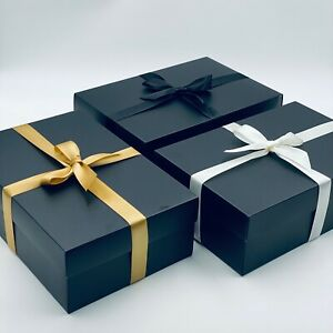 Premium Large Gift Box. PICK YOUR RIBBON COLOUR.