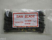 100 pcs New Dental Lab Long Plaster Saw Blades 127mm Tool