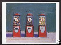 WAYNE THIEBAUD Penny Machines (1961) ART ARTWORK PAINTING POSTCARD