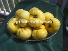 Great White Heirloom Tomato Seeds Organic Garden Angel Vegetable Seeds