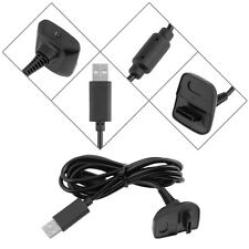 Xbox 360 Wireless Gamepad Controller Play and Charger Charging Cable Lead 1.5m