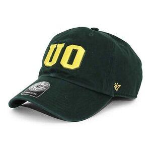 Oregon Ducks NCAA 47 Brand Clean Up Adjustable Hat