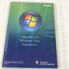 Microsoft Windows Vista Anytime Upgrade Disc 32 Bit English