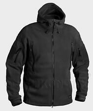 Helikon Tex Patriot Cold Weather Fleece Jacket Outdoor Hooded Jacket Black XS