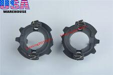 2x H7 HID Xenon Bulb Adapters Holders For VW MK5 Golf GTI Jetta R32 Rabbit 99-10