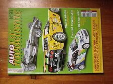 $$o Revue Auto modélisme N°91 McLaren MP4/18  Chevrolet COrvette C5-R  Focus WRC