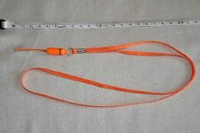ORANGE DETACHABLE NECK STRAP FOR CAMERA,MOBILE PHONE,ID HOLDERS NEW