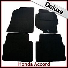 HONDA ACCORD Mk6 1998-2002 Tailored LUXURY 1300g Carpet Car Mats BLACK