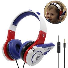 VCOM Kids Headphones, Adjustable Over Ear Stereo Boys Girls Robot Children Safe