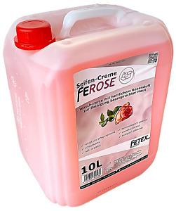 Cremeseife FEROSE [ 10 L Kanister ] Flüssigseife Seifencreme Ph-neutral | Rose