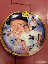 Mickey Mantle Plate Limited Edition