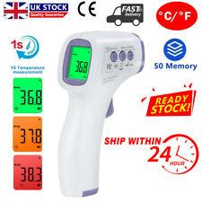 LCD Non-contact Infrared Digital Forehead Thermometer Baby Body Temperature Gun