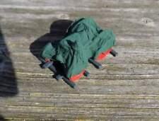 Lanz Bulldog:  Ladegut unter grüner Plane auf Palette   - von Saller 1:87