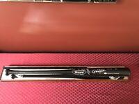 Derek Jeter Hand Autographed Louisville Slugger Baseball Bat - Display Case- COA