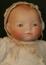 Antique Bye Lo Baby Doll German Bisque Doll 11 1/2 IN, Grace Story Putnam Doll