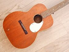 1950s Kay Old Kraftsman K10 Auditorium Body 000 Vintage Acoustic Guitar Mahogany