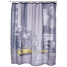 New York Times Square Shower Curtain by Ladelle Yellow Cab USA America NYC
