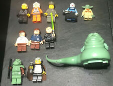 LEGO STAR WARS GENUINE JABBA THE HUTT TAN FACE FIGURE CHICKEN LEG NEW FAST