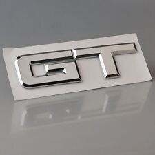 3D Chrome GT Symbol ABS Car Rear Emblem Stickers for Ford Mustang Shelby GT 5.0