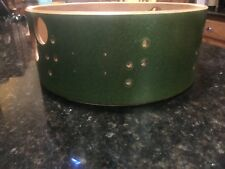 Phattie Drums Green Sparkle 13 X 5 Vented Snare Drum Shell