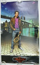 NITF! NIKE Poster John McEnroe ☆ Brooklyn Bridge WTC Twin Towers PRO Laminated