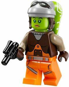 Lego Star Wars Rebels Minifigure Hera Syndulla & Weapon 75053 75127 *New* *Rare*