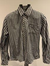 Vintage MAISON MARGIELA 10 Black & White Checked Long Sleeve Shirt