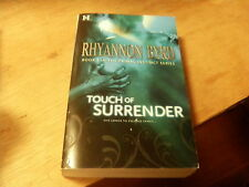 Touch Trilogy: Touch of Surrender by Rhyannon Byrd (2010, Paperback)  r