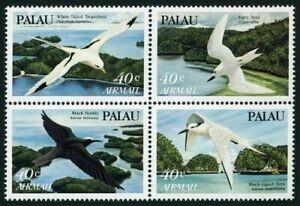 Palau C1-C4a, MNH Tropicbird, Fairy, Black-nap ed terns, Noody. x33195