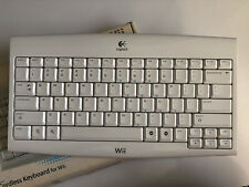 Logitech Wireless Wii Keyboard 920-000934 With Receiver