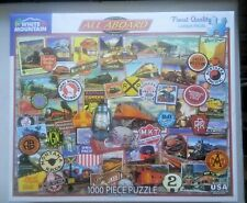 All Aboard    Jigsaw Puzzle -- White Mountain --  1000 pieces