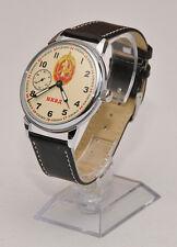 Russische Fliegeruhr Armbanduhr НКВД NKWD - PILOT 3602, ПИЛОТ 36 02, ZUSTAND 1A