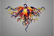 Hand Blown Glass Chandelier by Seth Parks