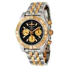 Breitling Men's Analog Display Swiss Automatic Two Tone Watch CB014012/BA53-378C