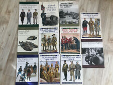 Osprey Series Book Lot Of 11 Military Reference History Modeling