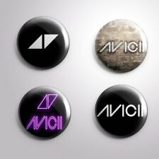 4 AVICII-  Pinbacks Badge Button 25mm 1''..