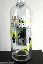 Rare ABSOLUT Vodka Limited Edition Exposure Johan Renck Design Huge Empty Bottle