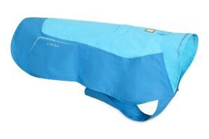 Ruffwear Vert Jacket Fleece Lined Waterproof Dog jacket 0575/409 Blue Atoll NEW