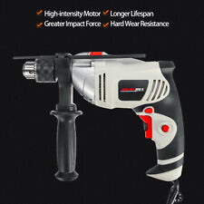 750W Electric Hammer Drill Variable Speed Heavy Duty Rotary Impact Screwdriver