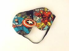 Sleep Mask - Captain America and Iron Man  - Comes As Shown