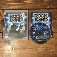 Rock Band (Sony PlayStation 3, 2007)- Complete